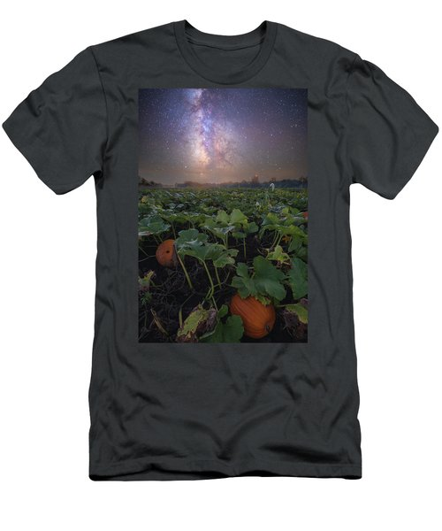 Men's T-Shirt (Athletic Fit) featuring the photograph Pumpkin Patch  by Aaron J Groen