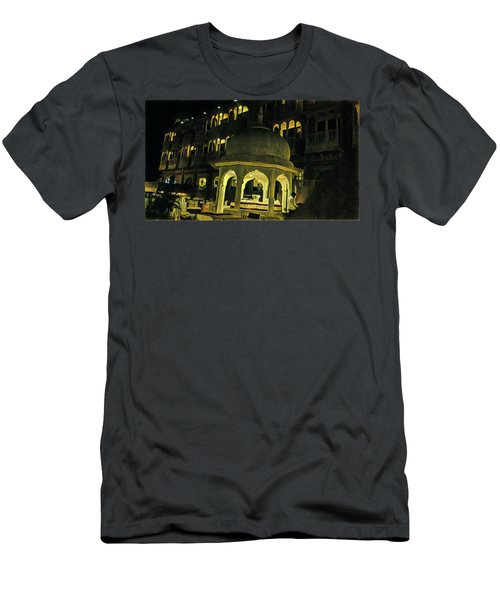 Tomb Of Shinning Windows Men's T-Shirt (Athletic Fit)
