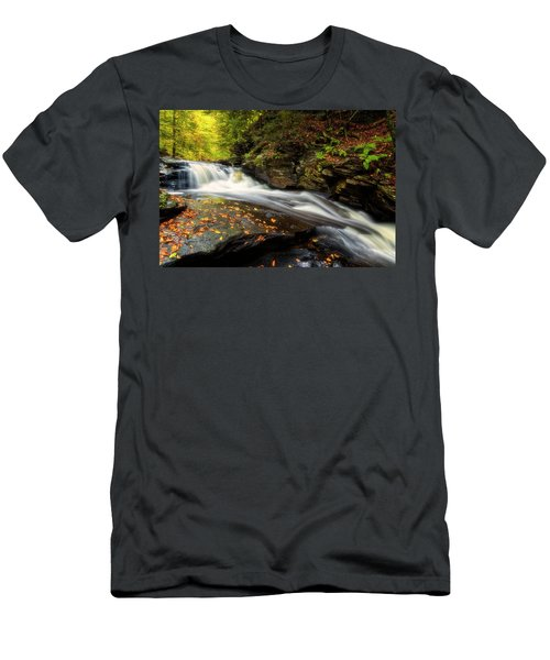 Men's T-Shirt (Athletic Fit) featuring the photograph Rushed by Russell Pugh