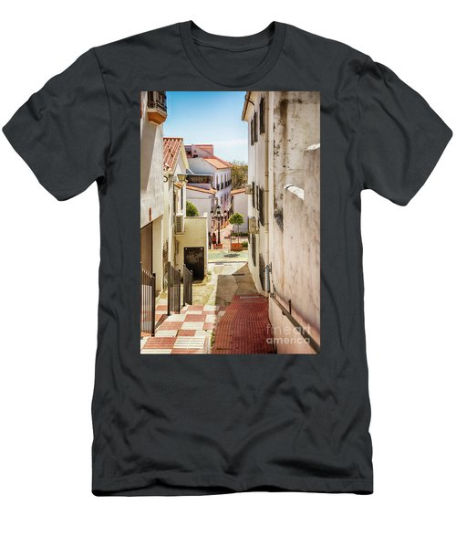 Men's T-Shirt (Athletic Fit) featuring the photograph spring season, Spain by Ariadna De Raadt