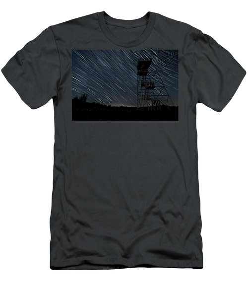Star Trails Men's T-Shirt (Athletic Fit)
