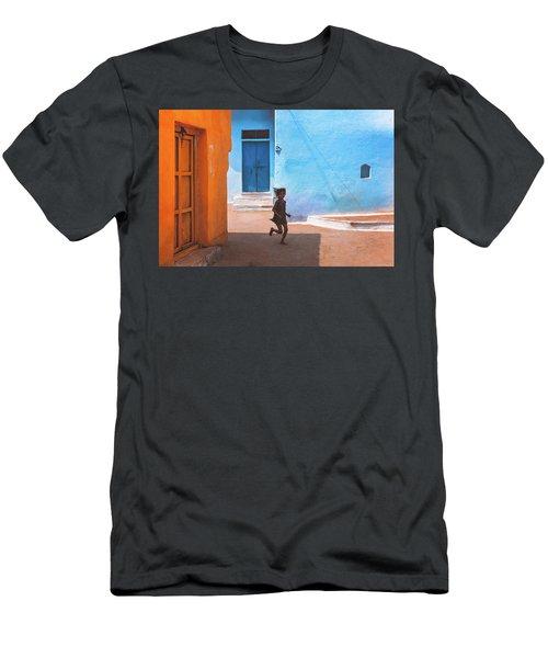 Streetcorner Men's T-Shirt (Athletic Fit)