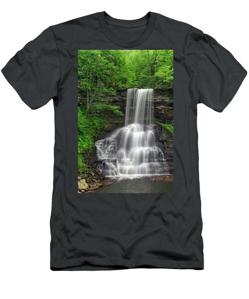 Summer Cascades Men's T-Shirt (Athletic Fit)