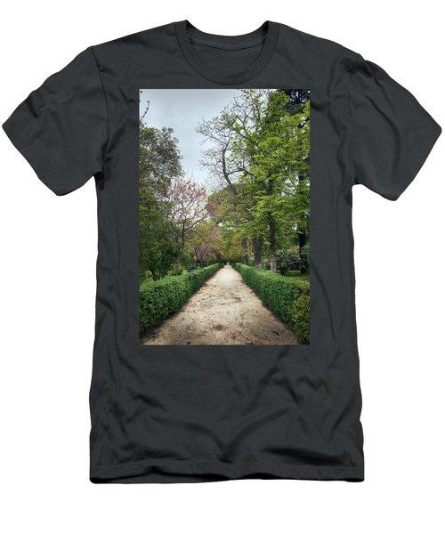 The Paths Of The Retiro Park Men's T-Shirt (Athletic Fit)