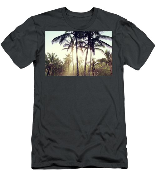 Ticla Palms Men's T-Shirt (Athletic Fit)