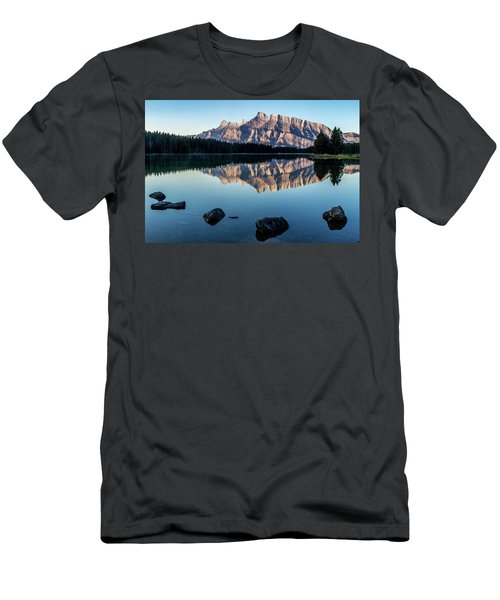 Two Jack Lake, Banff National Park, Alberta, Canada Men's T-Shirt (Athletic Fit)