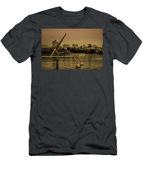 Vancouver Public Art Men's T-Shirt (Athletic Fit)