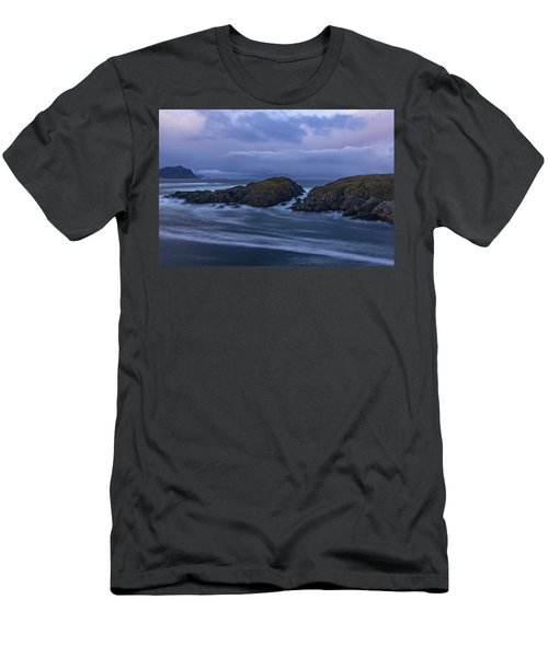 Waves At The Shore Men's T-Shirt (Athletic Fit)