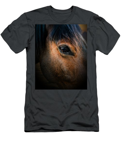 Wild Mustang Love  Men's T-Shirt (Athletic Fit)