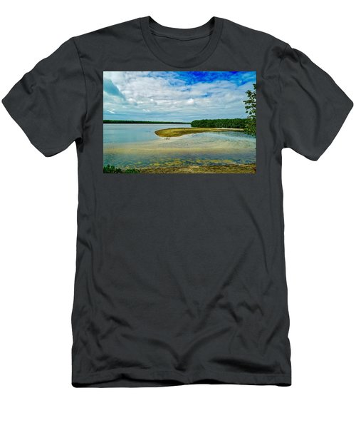 Wildlife Refuge On Sanibel Island Men's T-Shirt (Athletic Fit)