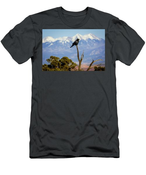 Men's T-Shirt (Athletic Fit) featuring the photograph Winter Is Coming by David Morefield