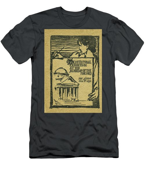 1894-95 Catalogue Of The Architectural Exhibition At The Pennsylvania Academy Of The Fine Arts Men's T-Shirt (Athletic Fit)