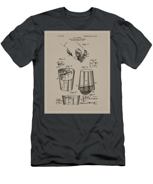 1903 Drink Mixer Patent Men's T-Shirt (Athletic Fit)