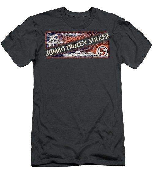 1950s Jumbo Frozen Sucker Men's T-Shirt (Athletic Fit)