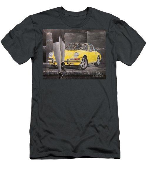 1968 Porsche 911 Targa Men's T-Shirt (Athletic Fit)