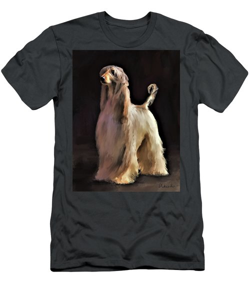 Afghan Hound Men's T-Shirt (Athletic Fit)
