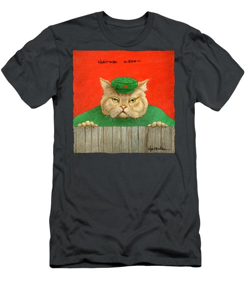 Chairman Meow... Men's T-Shirt (Athletic Fit)