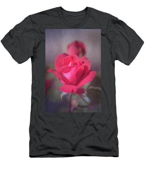 Men's T-Shirt (Athletic Fit) featuring the photograph Rose by Allin Sorenson