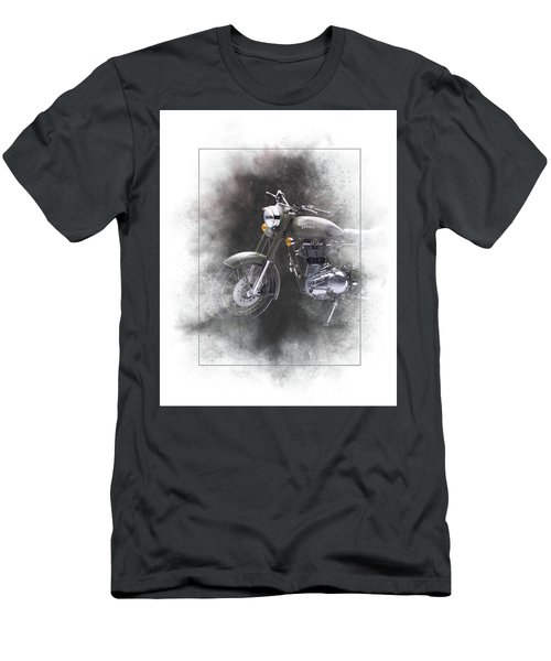 Royal Enfield Classic 500 Painting Men's T-Shirt (Athletic Fit)