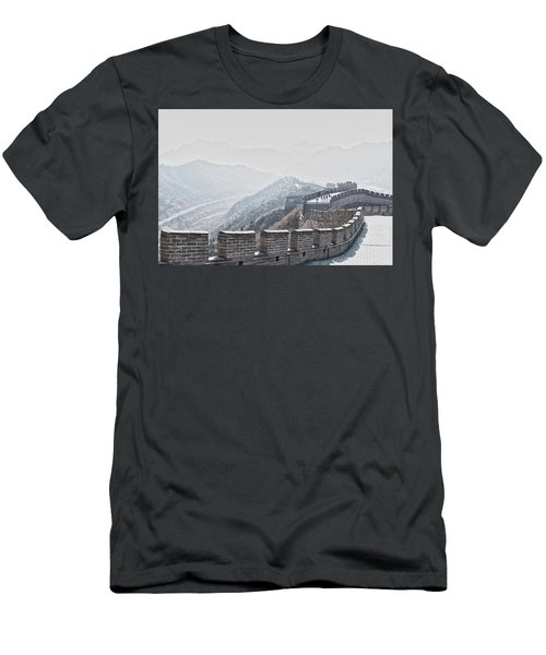 The Great Wall Of China Men's T-Shirt (Athletic Fit)