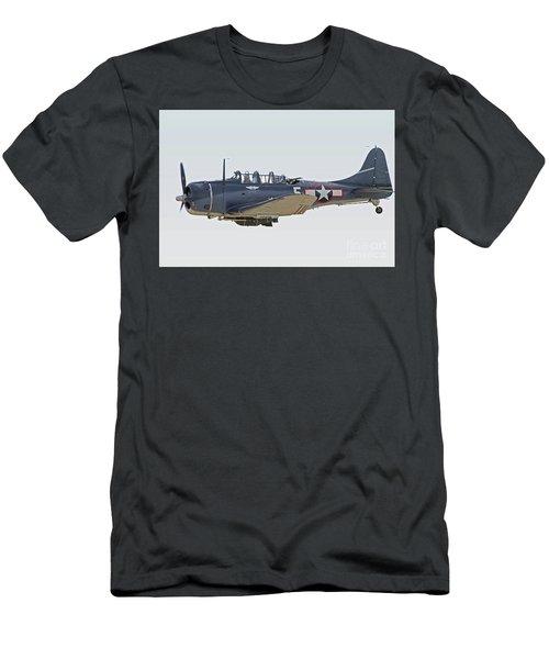 Vintage World War II Dive Bomber Men's T-Shirt (Athletic Fit)