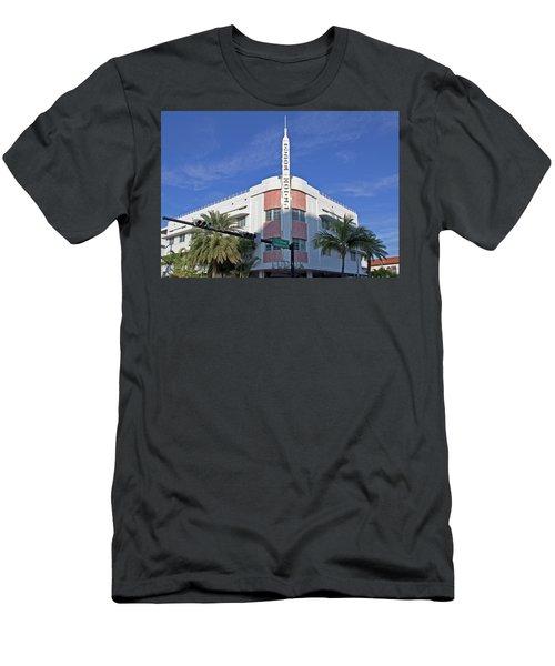 Art Deco - South Beach - Miami Beach Men's T-Shirt (Athletic Fit)