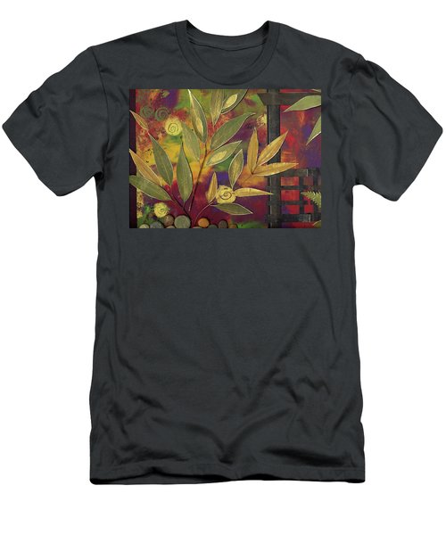 Purple Shade Men's T-Shirt (Athletic Fit)