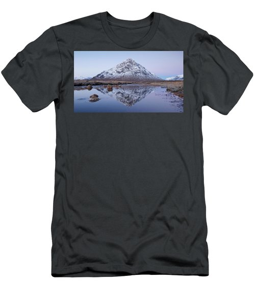 Men's T-Shirt (Athletic Fit) featuring the photograph Dawn In Glencoe by Stephen Taylor