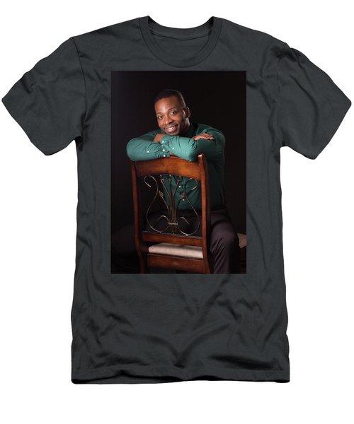 Portraits Men's T-Shirt (Athletic Fit)