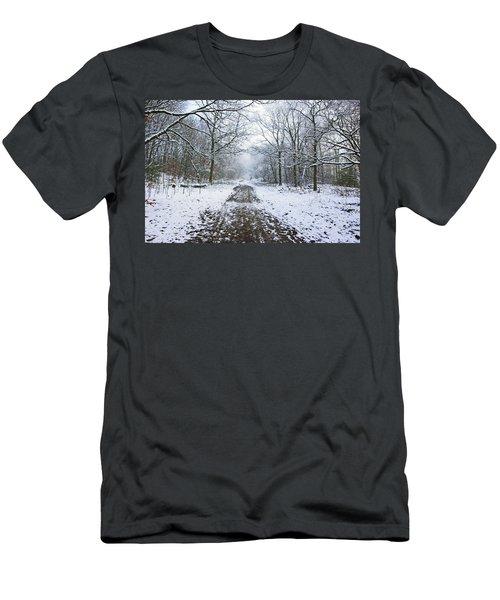 30/01/19  Rivington. Lower Barn. Arboretum Path. Men's T-Shirt (Athletic Fit)
