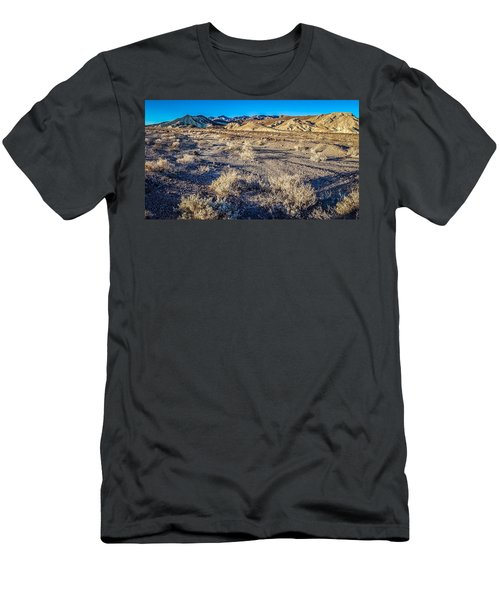 Men's T-Shirt (Athletic Fit) featuring the photograph Death Valley National Park Scenes In California by Alex Grichenko