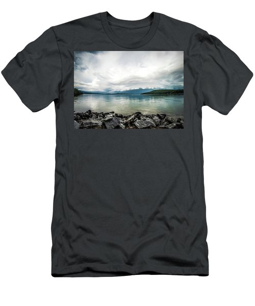 Men's T-Shirt (Athletic Fit) featuring the photograph Scenery Around Lake Jocasse Gorge by Alex Grichenko