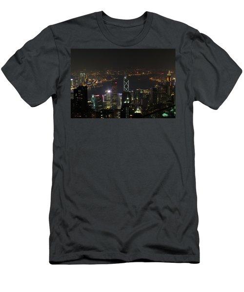 Hong Kong China Men's T-Shirt (Athletic Fit)