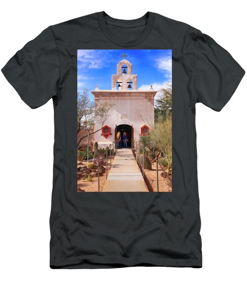San Xavier Del Bac Az Men's T-Shirt (Athletic Fit)