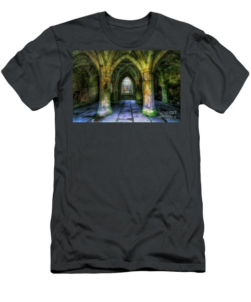 Valle Crucis Abbey Men's T-Shirt (Athletic Fit)