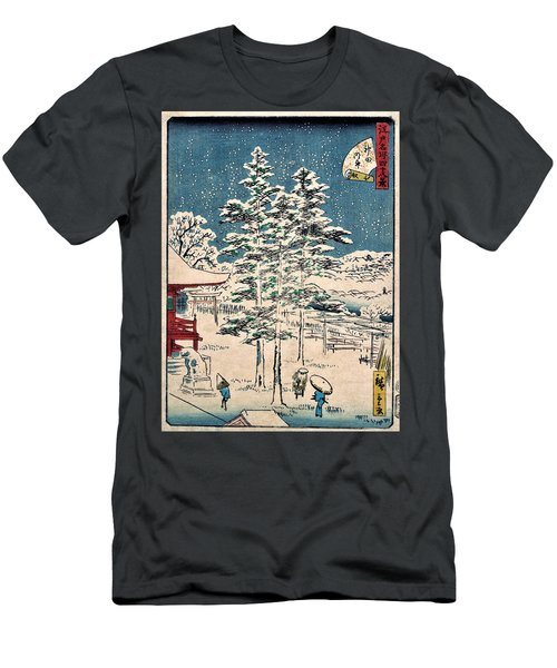 48 Famous Views Of Edo - Kanda Temple Men's T-Shirt (Athletic Fit)