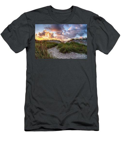 48th Ave. Sunrise North Myrtle Beach Men's T-Shirt (Athletic Fit)