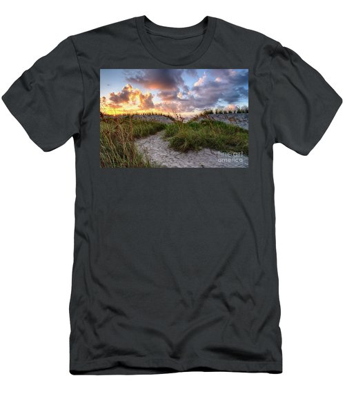 48th Ave. Sunrise North Myrtle Beach Men's T-Shirt (Athletic Fit)