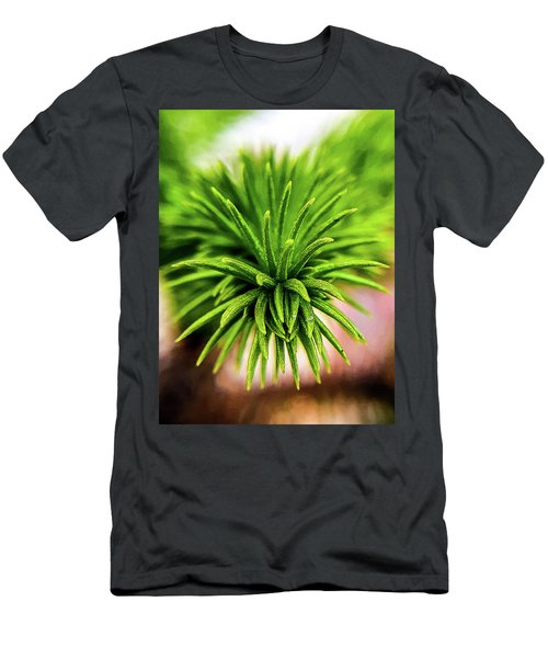 Green Spines Men's T-Shirt (Athletic Fit)