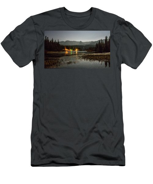 Men's T-Shirt (Athletic Fit) featuring the photograph Sierra National Park Mountains Near Mammoth Lakes Californit by Alex Grichenko