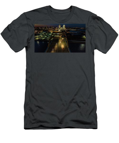 Men's T-Shirt (Athletic Fit) featuring the photograph 794 by Randy Scherkenbach