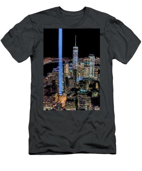 911 Lights Men's T-Shirt (Athletic Fit)