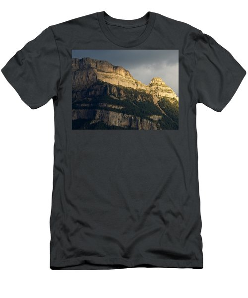 Men's T-Shirt (Athletic Fit) featuring the photograph A Blast Of Light by Stephen Taylor