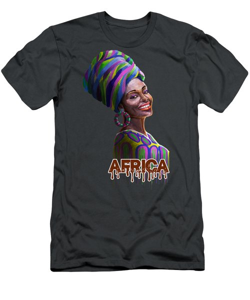 A Bright Smile For All Men's T-Shirt (Athletic Fit)