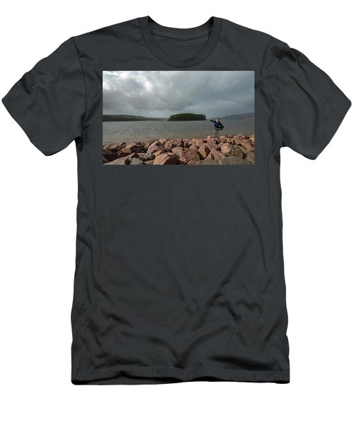 A Charming Little Girl In The Isle Of Skye 1 Men's T-Shirt (Athletic Fit)