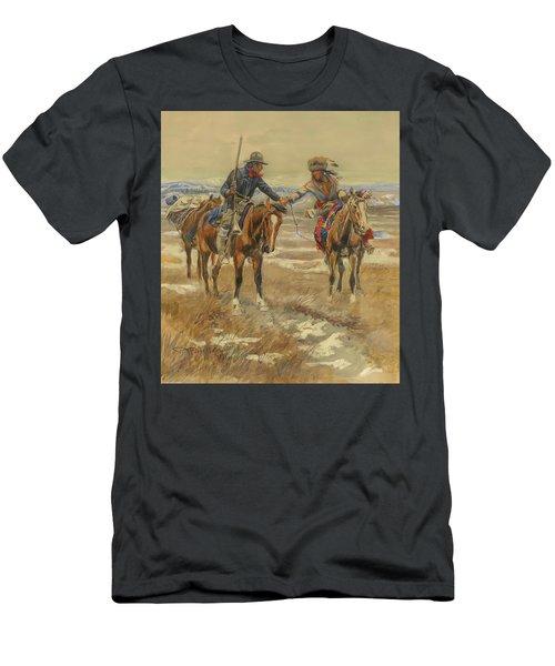 A Doubtful Handshake Men's T-Shirt (Athletic Fit)