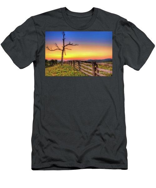 A Gorgeous Blue Ridge Sunrise Men's T-Shirt (Athletic Fit)