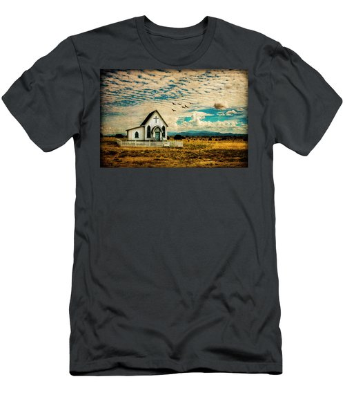 A Lone Prairie Church Men's T-Shirt (Athletic Fit)