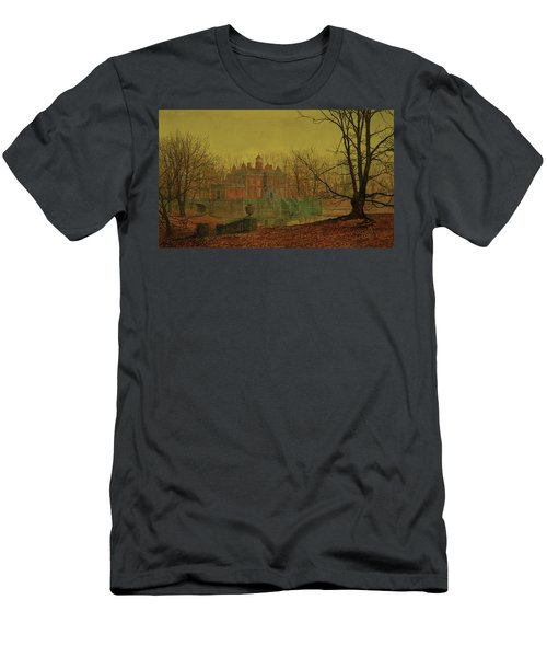 A Moated Yorkshire Home, 1879 Men's T-Shirt (Athletic Fit)