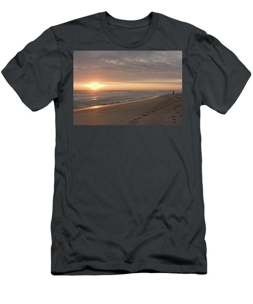 Men's T-Shirt (Athletic Fit) featuring the photograph A New Day by John M Bailey